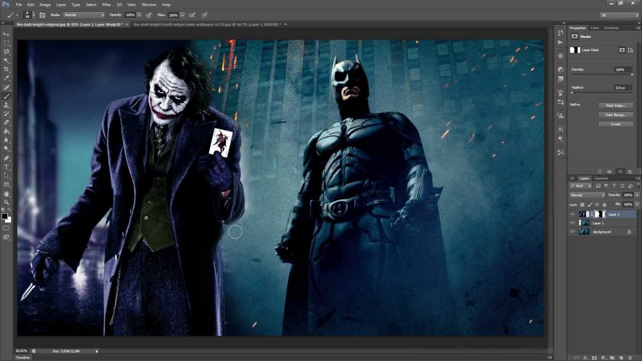 how to add another picture layer in photoshop