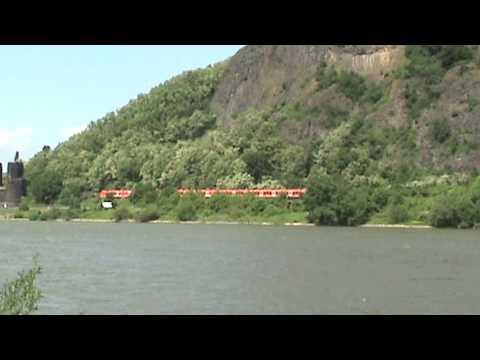 BR425 von Koblenz nach Bonn bei Erpel Remagen