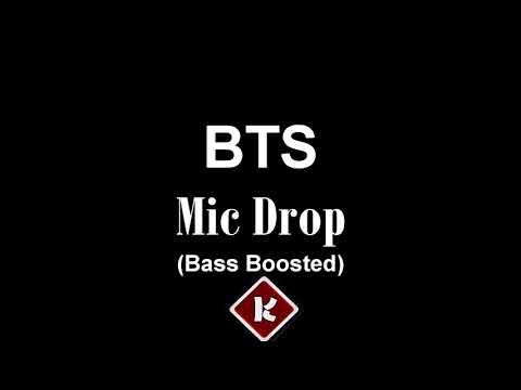 [BASS BOOSTED] BTS - MIC Drop (Steve Aoki Remix) (Feat. Desiigner)
