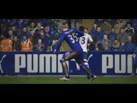 FIFA 16 match  highlights tottenham vs leicester premier league