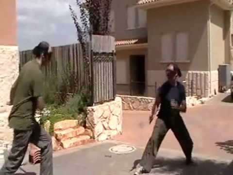 Machete fight (bolo) - sparring- Armed Combat & Tactics