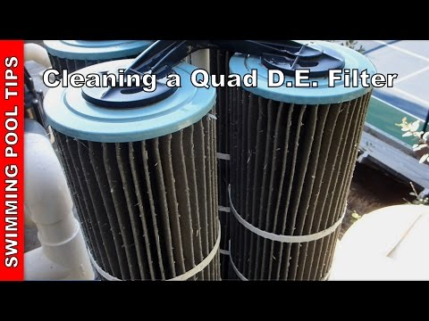 Cleaning a Quad DE Filter & Overview