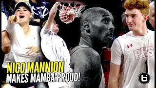 Nico Mannion ACTIVATES MAMBA MENTALITY! DUNKS His Way To Championship Game In CLUTCH Performance!