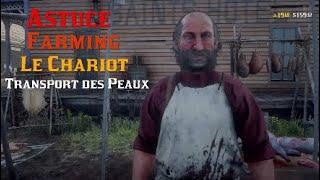 Red Dead Online 2 - Astuce : Farming Transport Des Peaux / Le Chariot
