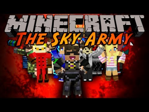 Watch Minecraft: The Sky Army Ep. 1 - Intro, Server Info, and Explaining