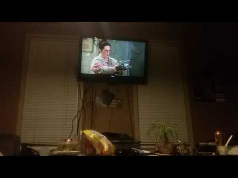 ME AND MOM and destiny and tai watching Ghostbusters the full movie 4 the best of the rest of the da