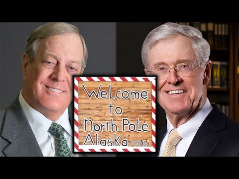 There's A Real North Pole & Yes, The Koch Bros Ruined It