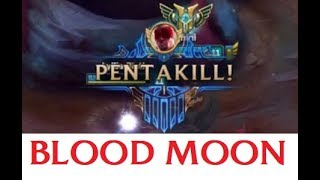 Best Hunt of the Blood Moon League of Legends Pentakill Compilation