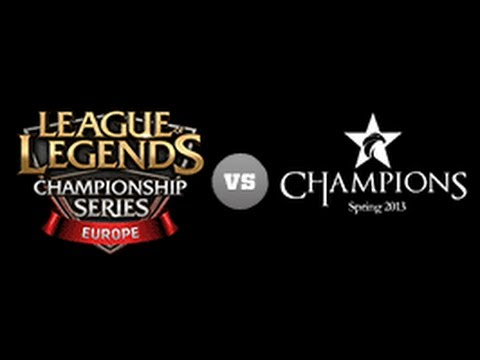EU LCS vs Korea Champions Game1 - All-Star 2013 D1