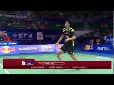 QF   Lin Dan vs Chen Long VĐTG 2013