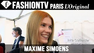 Maxime Simoens Spring/Summer 2015 FIRST LOOK | Paris Fashion Week | FashionTV