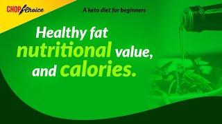 High Fat Foods l Nutritional Values & Calories.