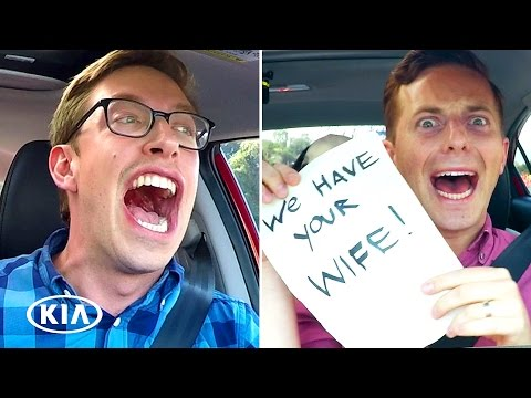 The Try Guys Try Distracted Driving // Presented By Kia Forte