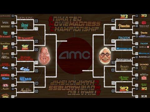 Animated Movie Madness Round 1 Results - AMC Movie News