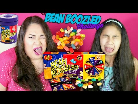Bean Boozled Challenge!! Jelly Belly Gross Flavors| B2cutecupcakes