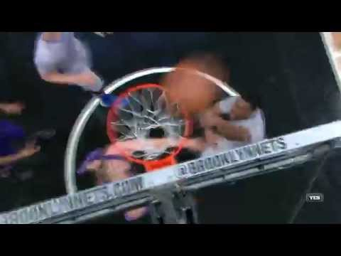 Thaddeus Young Misses the Dunk | Suns vs Nets | 12.1.2015