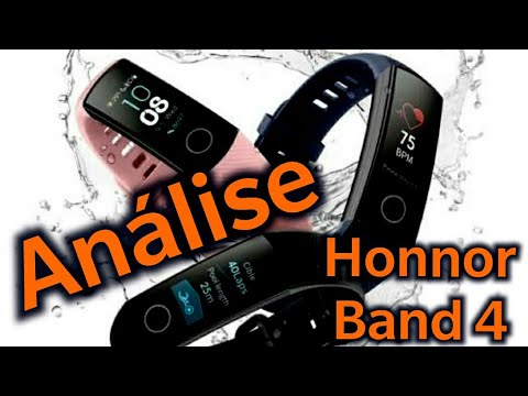 Honnor Band 4 Análise completa #review