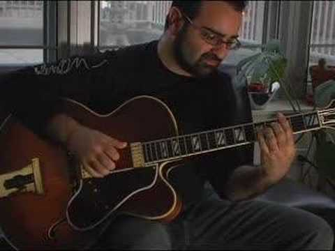 Solo Jazz Guitar Here's That Rainy Day