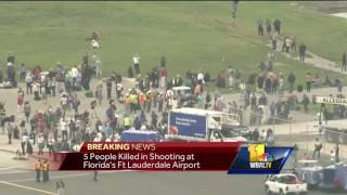 Video: Baltimore woman recounts Florida airport shooting