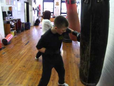 Young Warriors Kids Class JKD Kickboxing FMA Eskrima Kali Arnis.Kickfit Martial Arts,Nottingham,UK Image 1