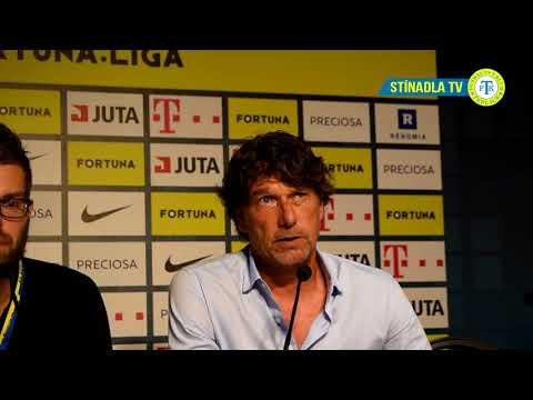 Tisková konference hostujícího trenéra po utkání Liberec - Teplice (4.8.2018)