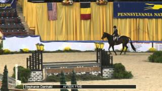 1212 After Five Stephanie Danhakl Class 133 Amateur Owner Hunter 18 35