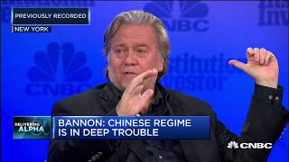 Bannon: We're at an economic war with China | In The News