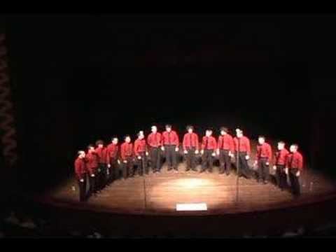 2005 Miami U. Cheezies a cappella: Facebook Song Video