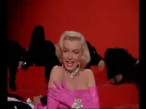 Diamonds Are A Girl's Best Friend - Marilyn Monroe Songs Video