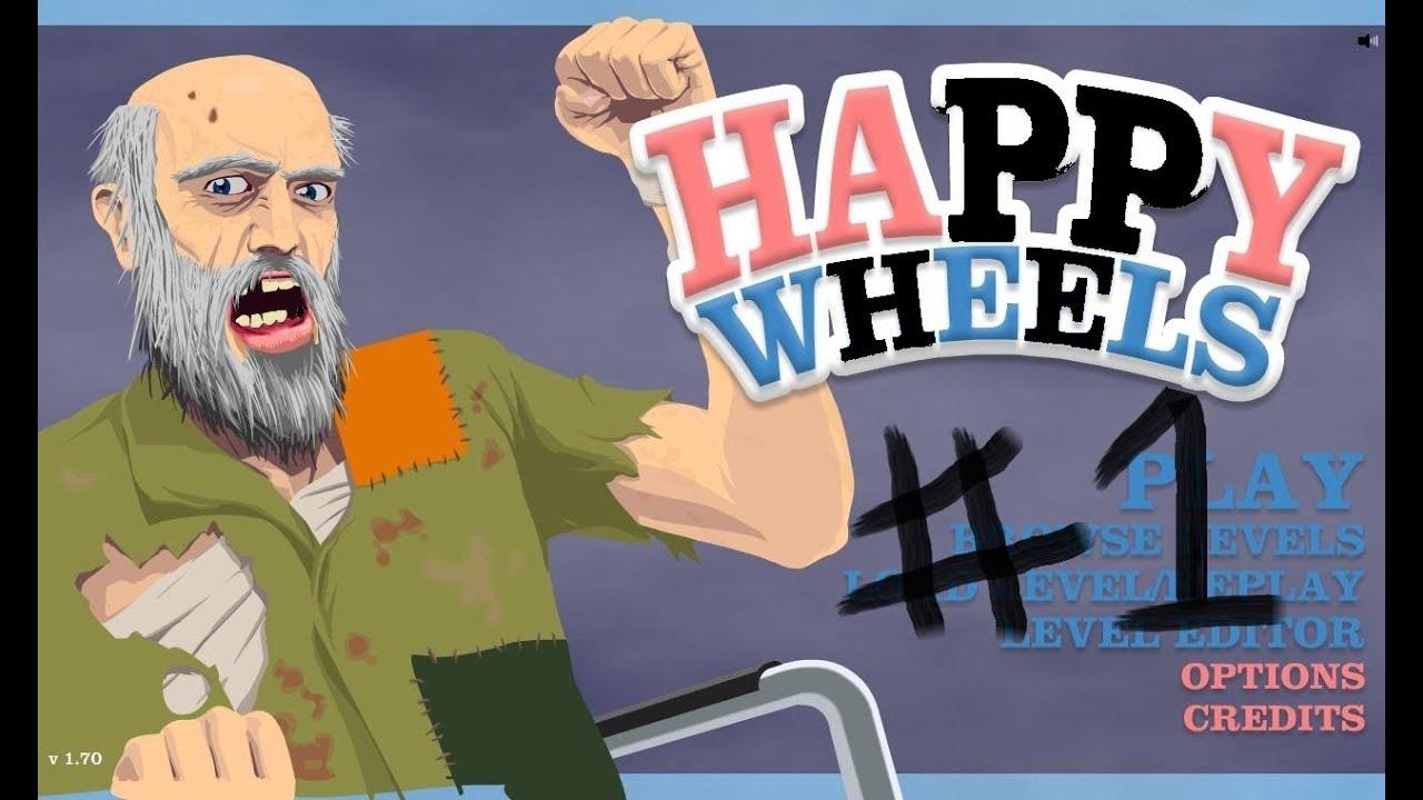 happy wheels play