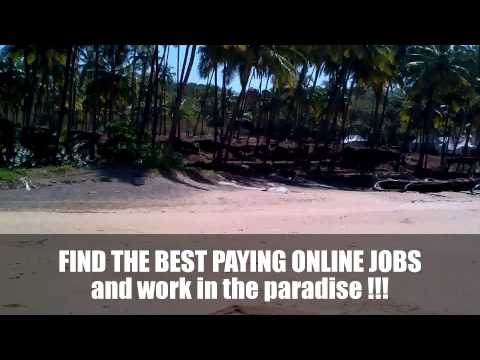 Find the Best Online Jobs and Work in the Paradise