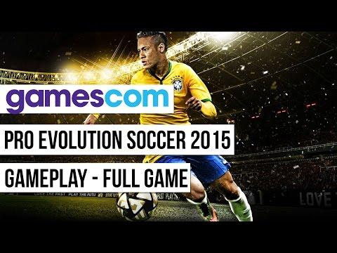 GC 2015: Gameplay Z Pro Evolution Soccer 2016 (cały Mecz)