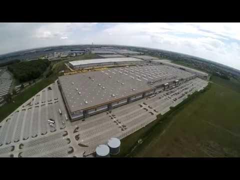 Amazon Logistics Center Bielany Wrocławskie Bird's-eye View / Centrum Logistyczne Amazon