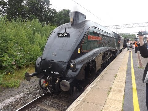 60009 Union of South Africa Test Runs Friday 24th July 2015