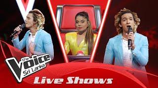 Prithvi Akash | Ada Thaniyen Ma  Live Shows | The Voice Sri Lanka