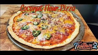 Coconut Flour Crust Pizza | Keto Pizza | Low Carb Healthy| Cooking with Thatown2