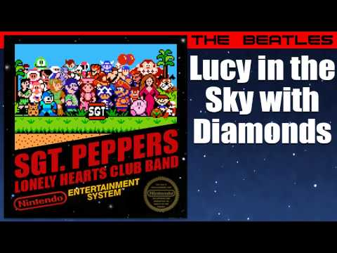 Download Lagu The Beatles: Lucy in the Sky with Diamonds - 8-Bit Sgt. Pepper MP3 Free