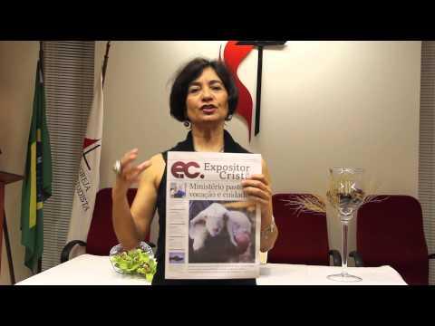 Bispa Marisa de Freitas incentiva leitura do Expositor Cristão