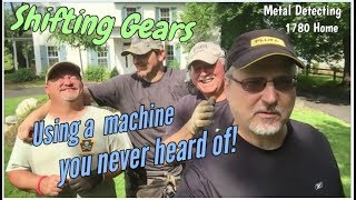 Shifting Gears! - Metal Detecting an Old House Permission with a Detector You Never Heard of!