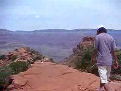 """Sucide"" in Grand Canyon"
