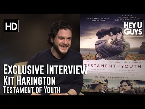 Kit Harington Interview - Testament of Youth (+ Game of Thrones Season 5)