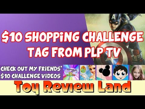 $10 Shopping Challenge Tag From My YouTube Friends PLP TV!