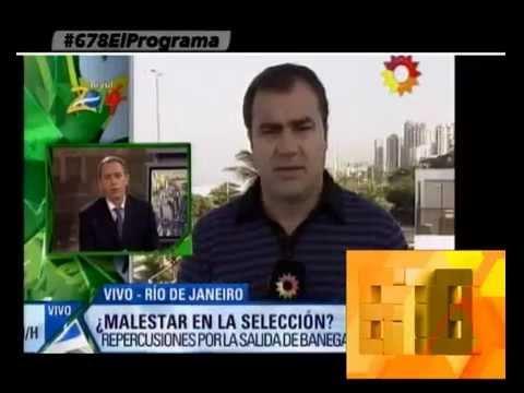EL ATAQUE DE CLARIN A SABELLA Y A LA ALEGRIA Y UNA SORPRESA FINAL - 06-06-14