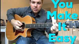 Download Lagu You Make It Easy | Jason Aldean | Beginner Guitar Lesson Gratis STAFABAND