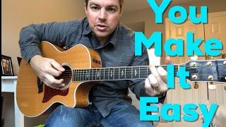 Download Lagu You Make It Easy | Jason Aldean | Beginner Guitar Lesson Gratis STAFABAND