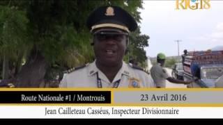 Haïti / Circulation.- Des mésures prises par la DCPR en vue de contrôler la circulation.