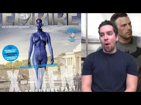 Jennifer Lawrence Blue and Naked Again! Ben Affleck Talks More Batman!