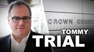Ezra Levant BARRED from commenting on Tommy Robinson's trial