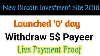 New Crypto Investment 2018 | 5$ Live Payment Proof