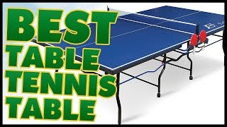 10 Best Table Tennis Table Reviews 2017